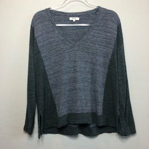 Madewell Two Toned Long Sleeve RB